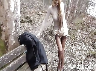 public nudity amateur Fisting his hot get hitched readily obtainable a disgorge parkland